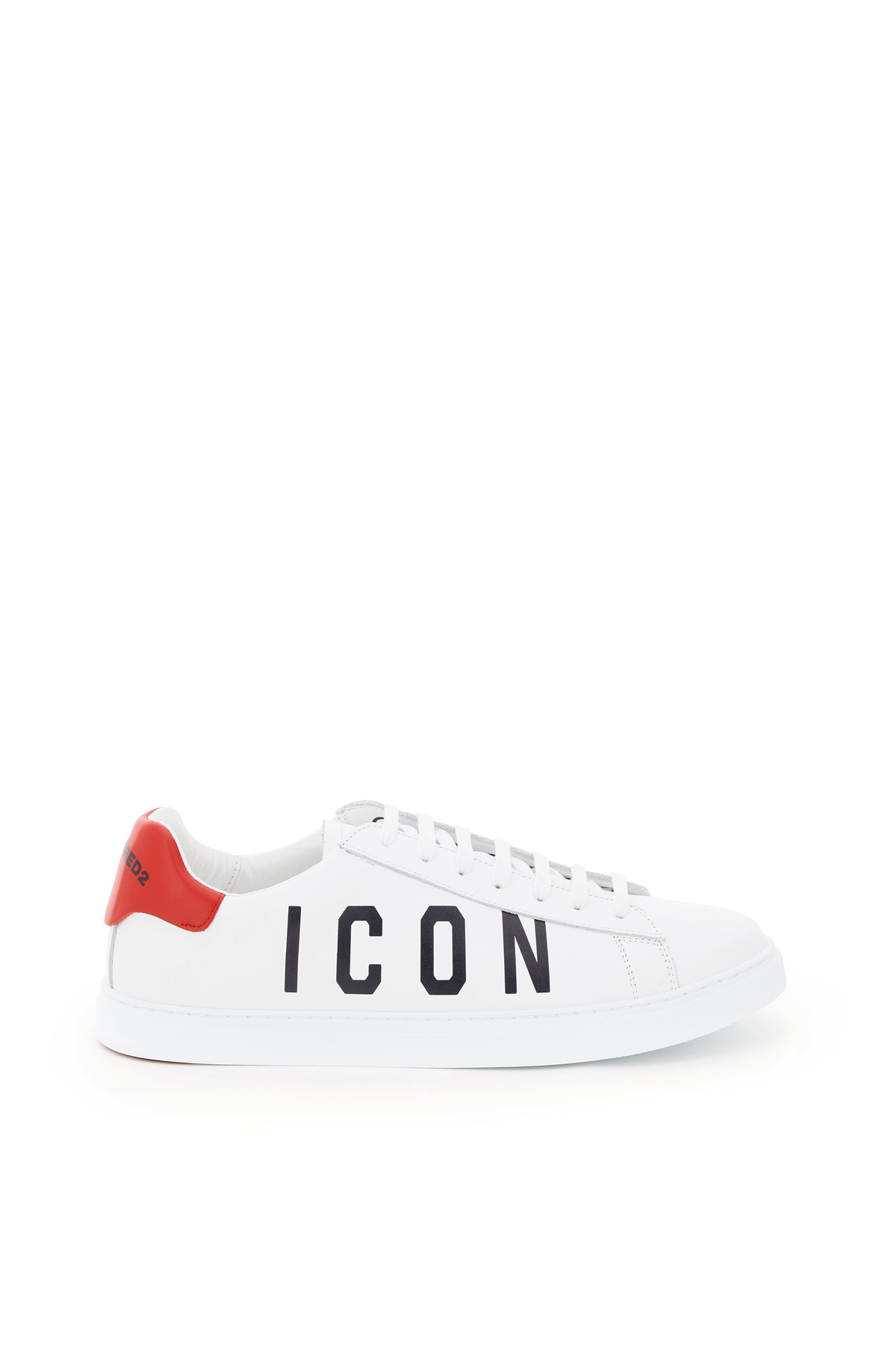 Dsquared2 sneakers in pelle new tennis logo icon