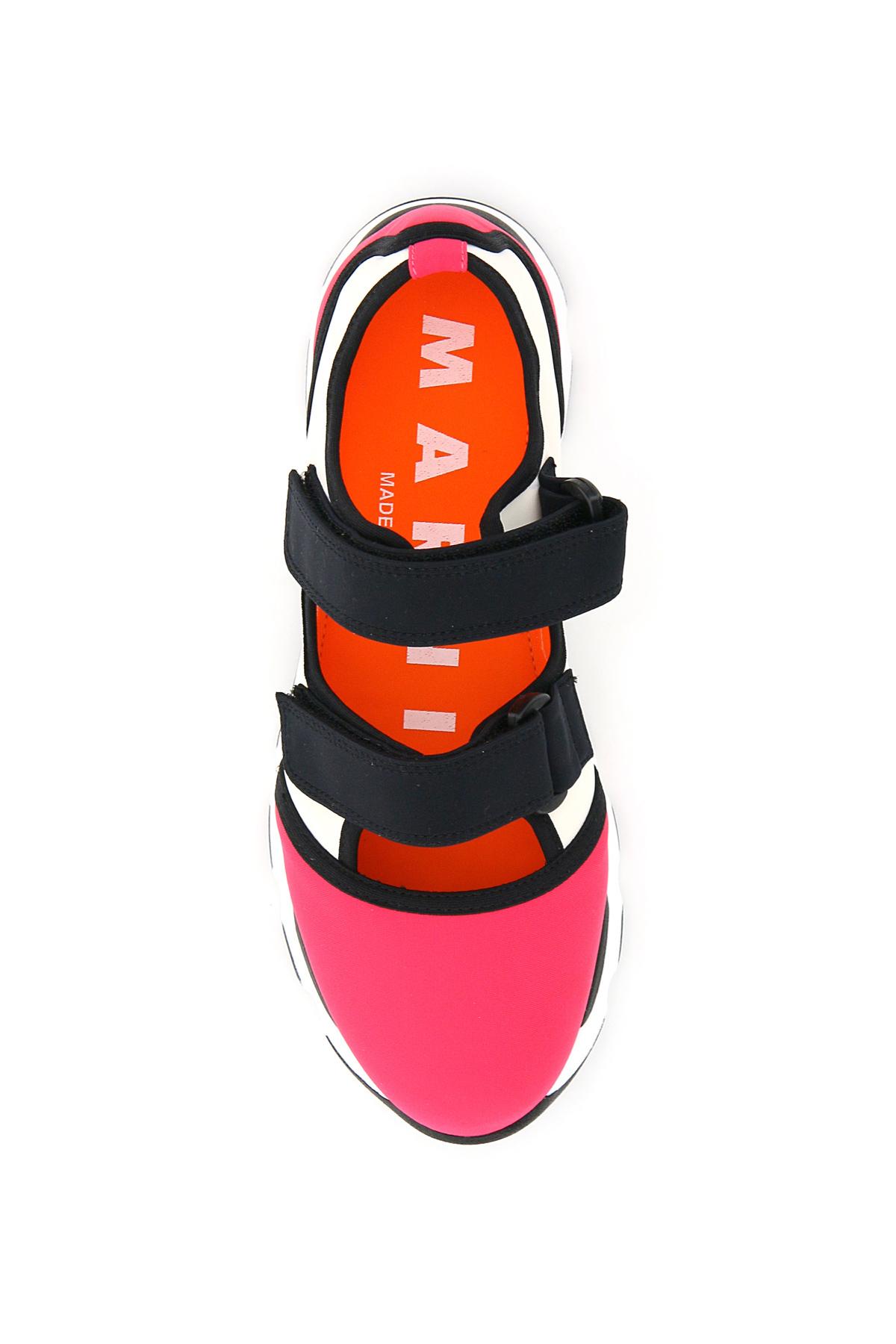Marni sneakers multicolor double strap