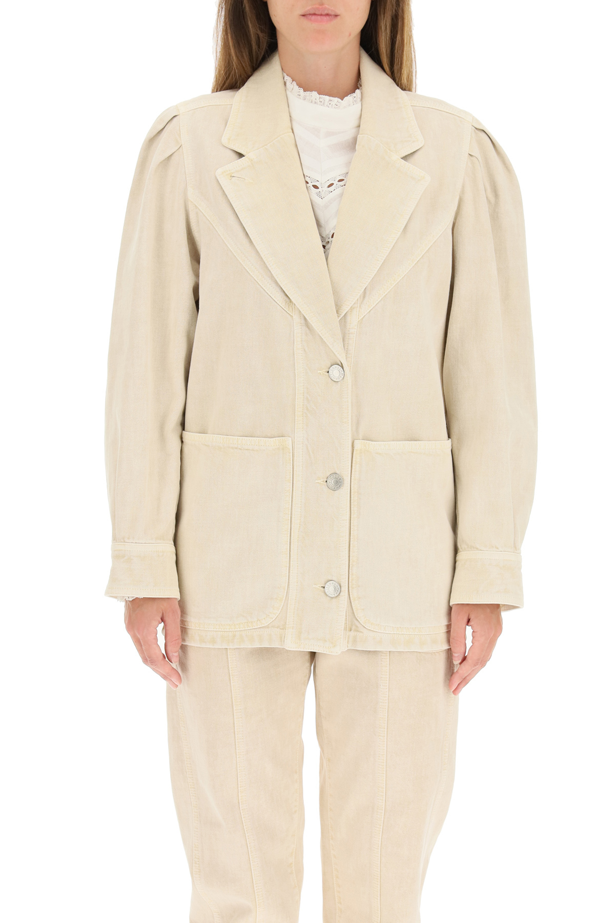 Isabel marant etoile giacca tucinda in denim