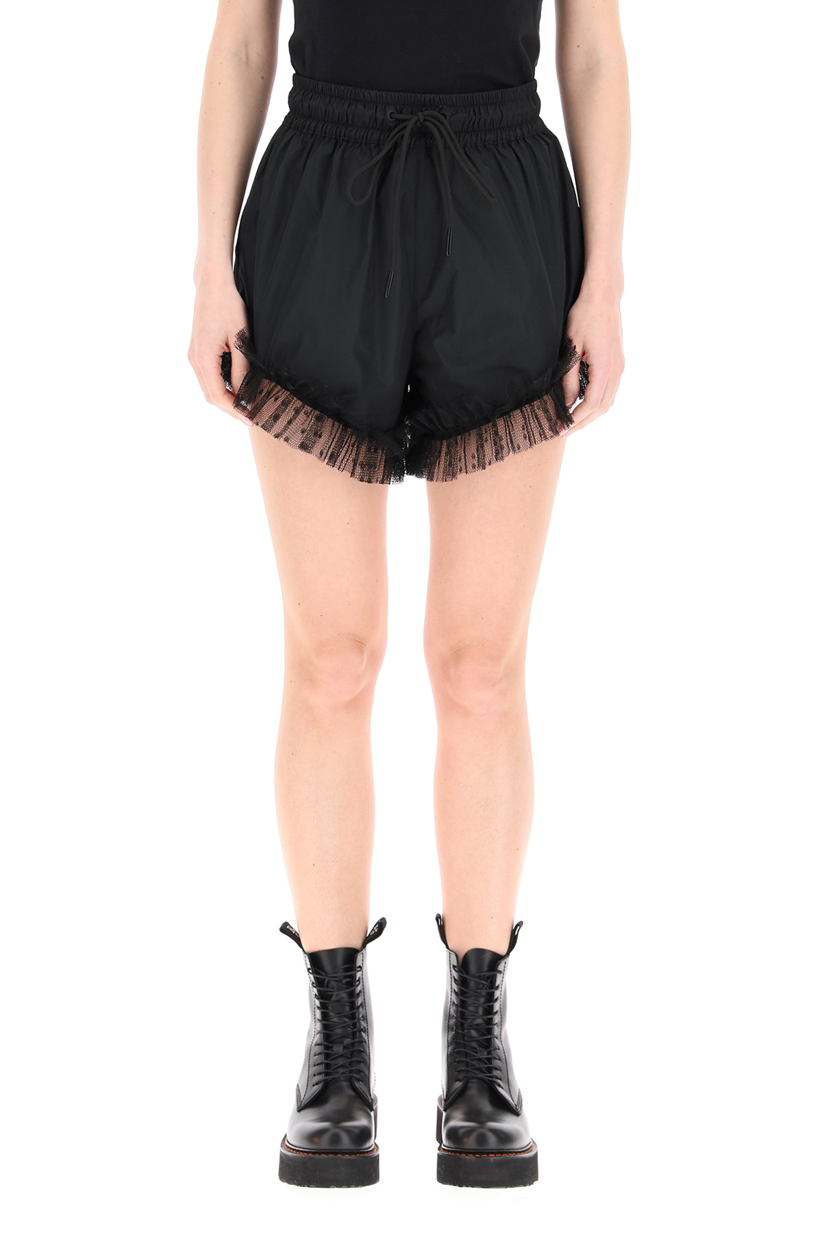 Red valentino short the black tag