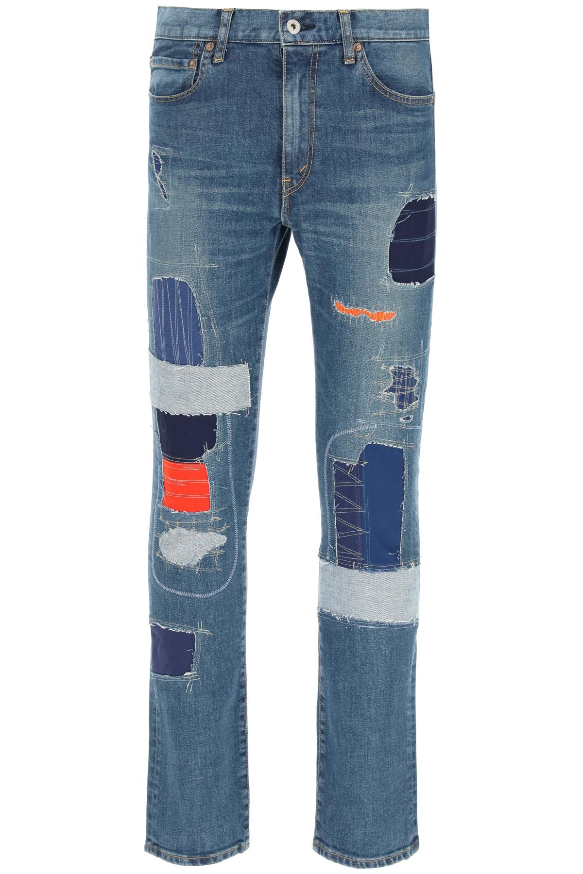 Junya watanabe jeans levi's patchwork