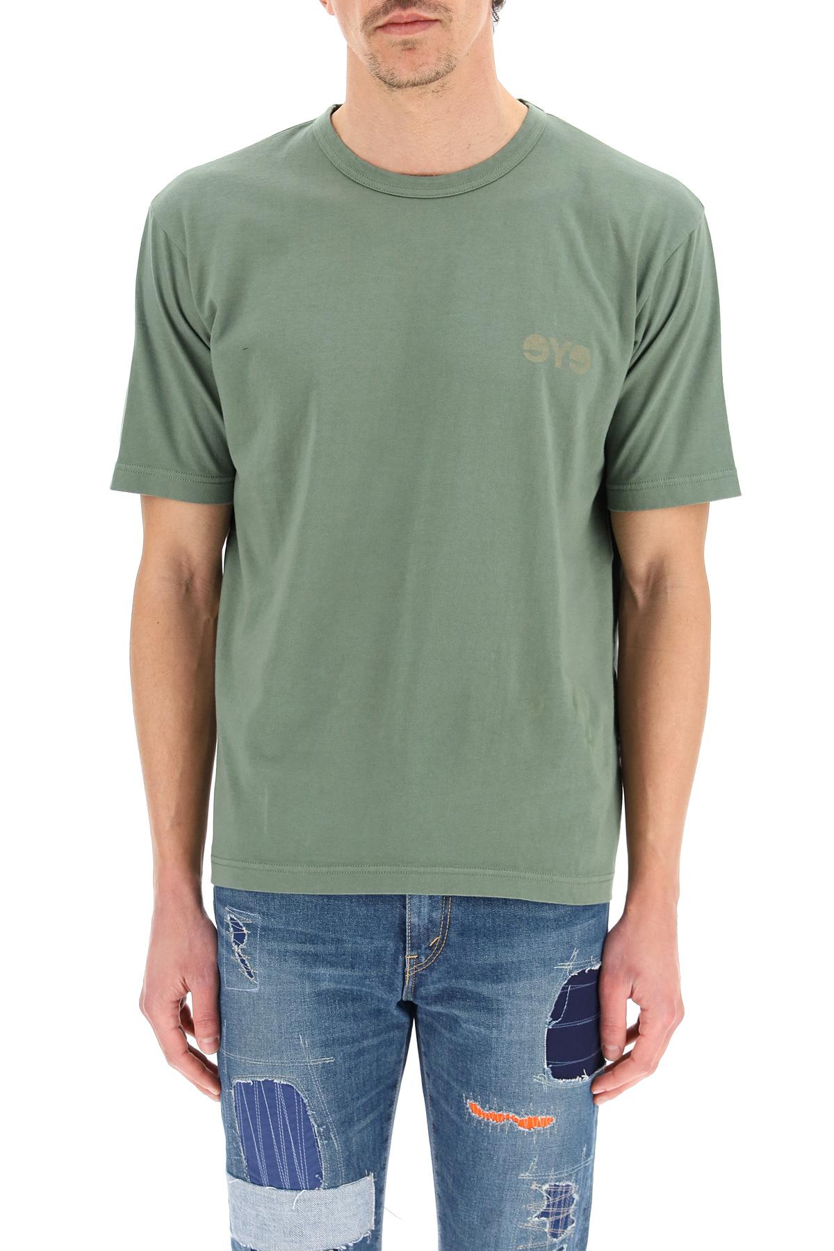 Junya watanabe t-shirt con stampa eye